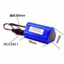 LiitoKala Hoge Kwaliteit Draagbare 12 V 2200 mAH 18650 Oplaadbare Lithium Batterij Batterijen Pack Voor CCTV Camera MID GPS 2200 mah
