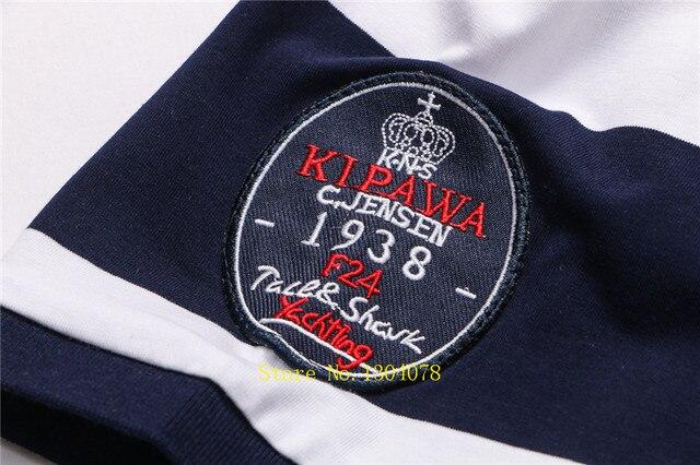 Men Clothes 2020 Famous Brand Tace & Shark polo shirt men Summer Tops Cotton Short Sleeve Striped Classic & Business homme 5