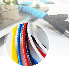 Multicolour 8mm electrical wire protective case computer cable storage management-ray device pipe bag line casing цена 2017
