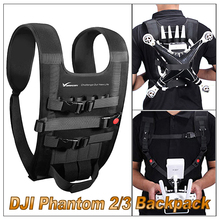 Tenacity Waterproof Nylon Shoulder Strap Harness Portable Backpack for DJI Phantom 3/2 Travelling / Adventure / Athletics