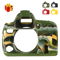 The high quality Soft Silicone Rubber 6d2 Camera Protective Body Case Skin For Canon 6D Mark II DSLR Camera Bag protector Cover