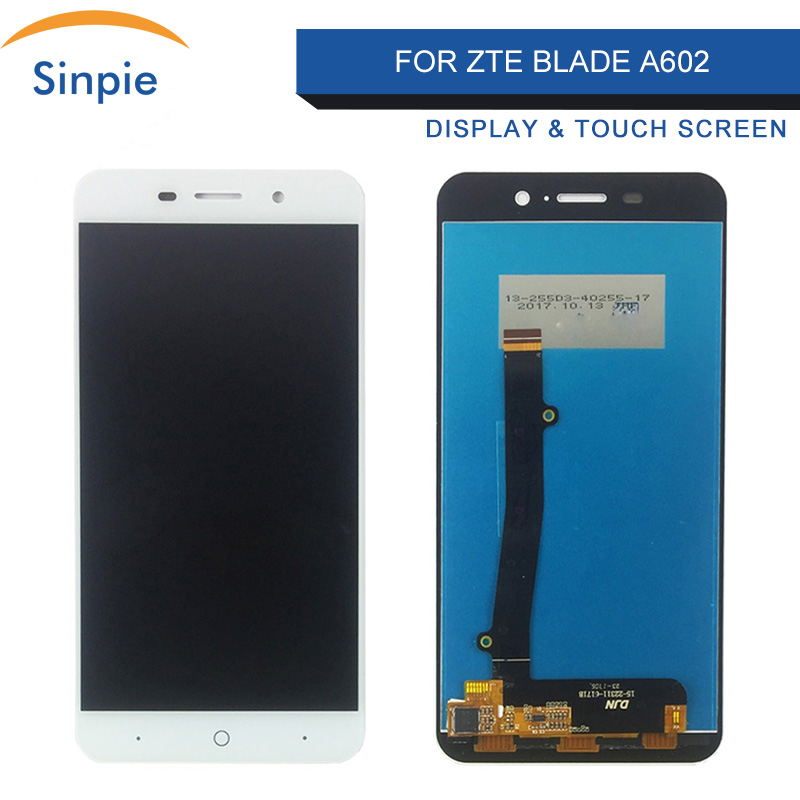 Sinpie For <font><b>ZTE</b></font> <font><b>Blade</b></font> <font><b>A602</b></font> <font><b>LCD</b></font> <font><b>Display</b></font> Touch Screen Digitizer Spare Parts Free Tools 100%Tested Working image