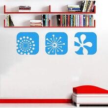 Wandbild Wandtattoo Retro Lounge Bild Abstract Fashion Personality Creative  Wall Art Tattoos Home Decor Mural(