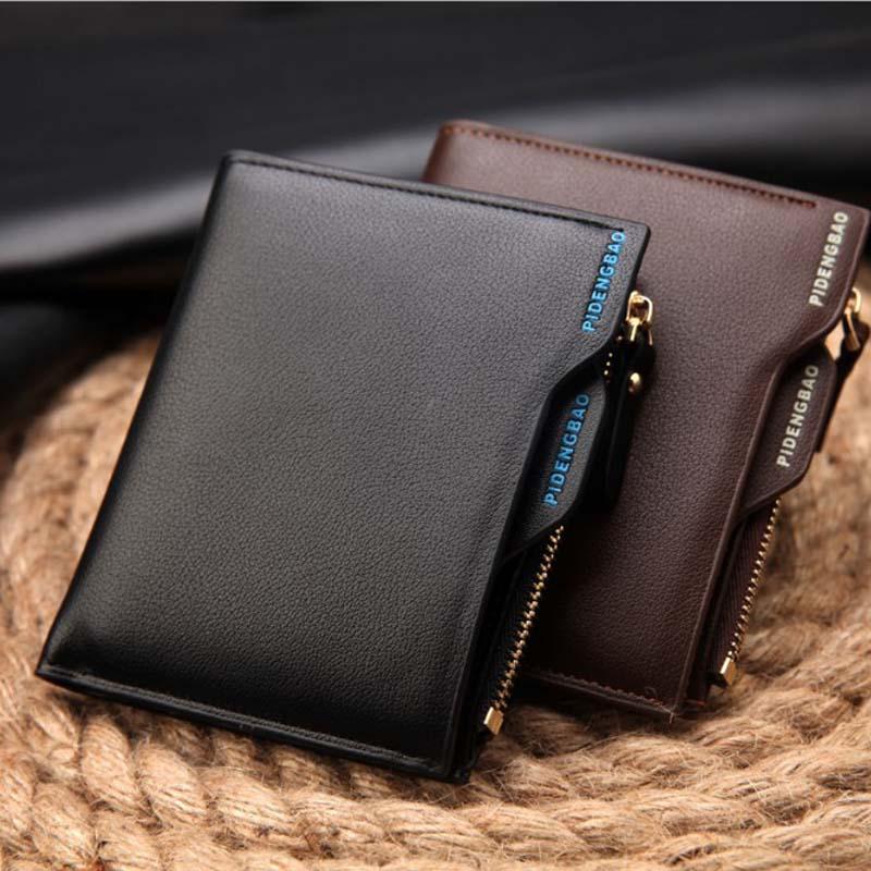 Europa und die Vereinigten Staaten kreative brieftasche kurze unentschieden mit herrenbrieftasche reißverschluss führerschein männlichen brieftasche jugend kleine brieftasche