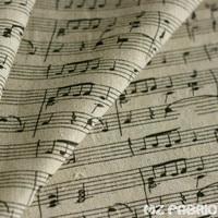 Ретро Винтажные хлопковые Льняные ткани на метр печати фортепиано льняной ткани DIY Швейные Home Decor хлопчатобумажная ткань 100*150 см