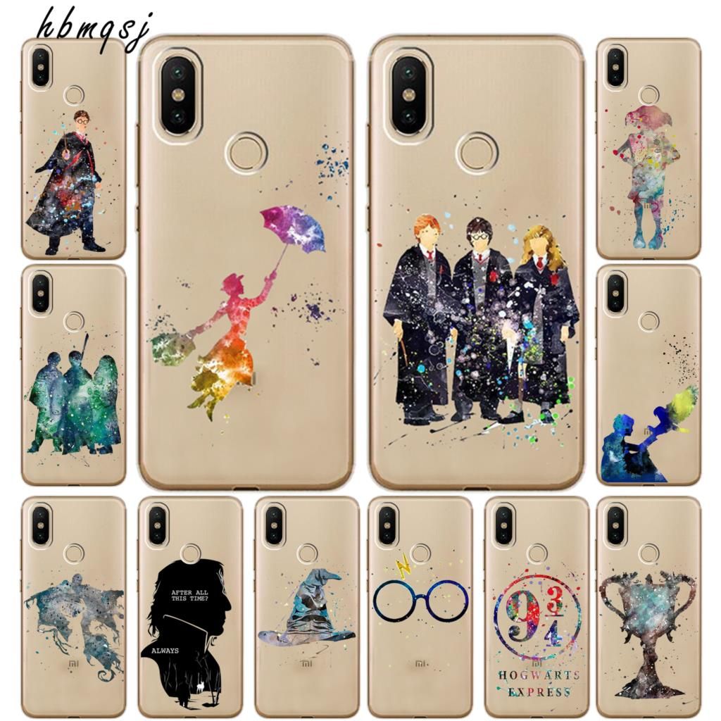 255c62f8123de9 Silicone tpu for xiaomi mi a2 lite redmi 6 pro case 5.84 inch cool cartoon  Harry