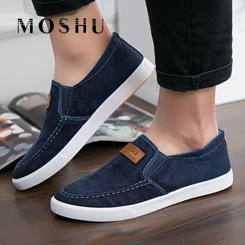 Men Canvas Flats Shoes Summer Breathable Casual Sneakers Male Slip On Solid Comfortable Loafers Chaussure Homme fashion men canvas sneakers slip on summer denim casual shoes jeans breathable flats men loafers shoes male chaussure homme