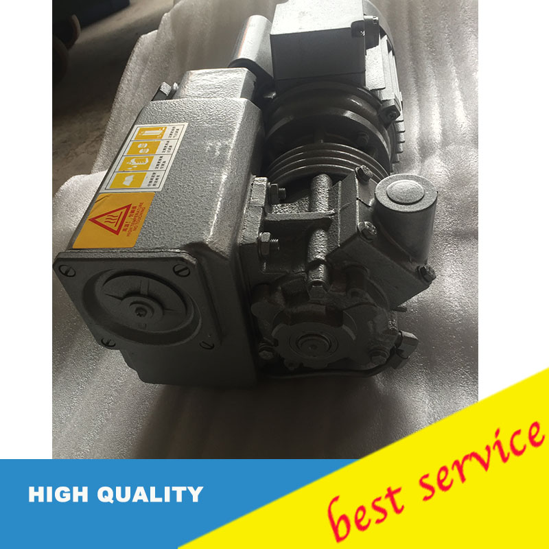XD 010 380v 50hz 0.37kw 10m3/h Single stage oil sealed rotary vane vacuum pump for Vacuum packaging