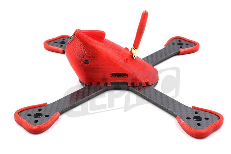 Geprc GEP-BX4 GEP-BX5 GEP-BX6 FlyShark W / TPU Hood DIY Quadcopter Airplane Frame  FPV Racing GEP-RX5 for T5045BN V2 propeller рено сценик rx 4 в мурманске