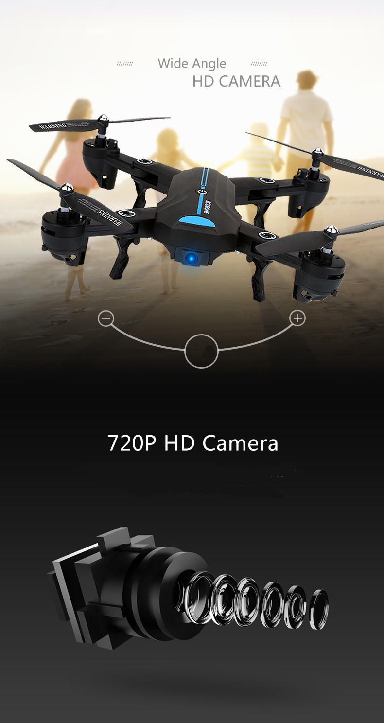 Mode Drone Headless Wide-angle 4
