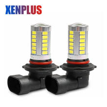 Xenplus Car Light H10 9005 HB3 9006 HB4 LED Running Lamp 33 SMD 5730 Chip 850lm 6000K white 12V Fog light Bulbs for auto(China)