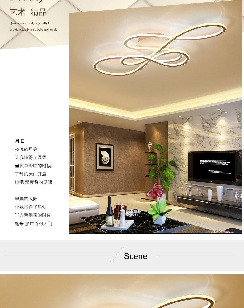 Großhandel Double Glow Moderne LED Deckenleuchten Für Wohnzimmer  Schlafzimmer Lamparas De Techo Dimmen Deckenleuchten Lampe Leuchten Von  Qinqin17,