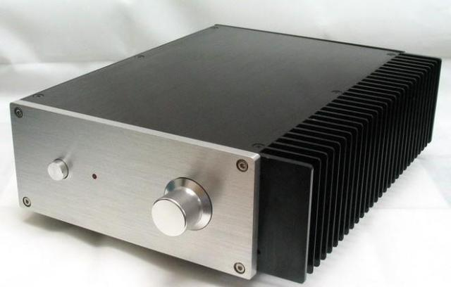 JC229D Aluminum Heat dissipation Chassis Audio Amplifier Chassis Preamplifier Case DIY Box Enclosure 269MM 90MM 311MM