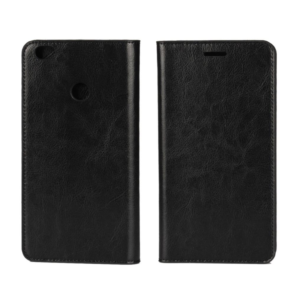 Business Crazy Horse Funda de cuero genuino para Xiaomi Max Mi Max - Accesorios y repuestos para celulares - foto 3
