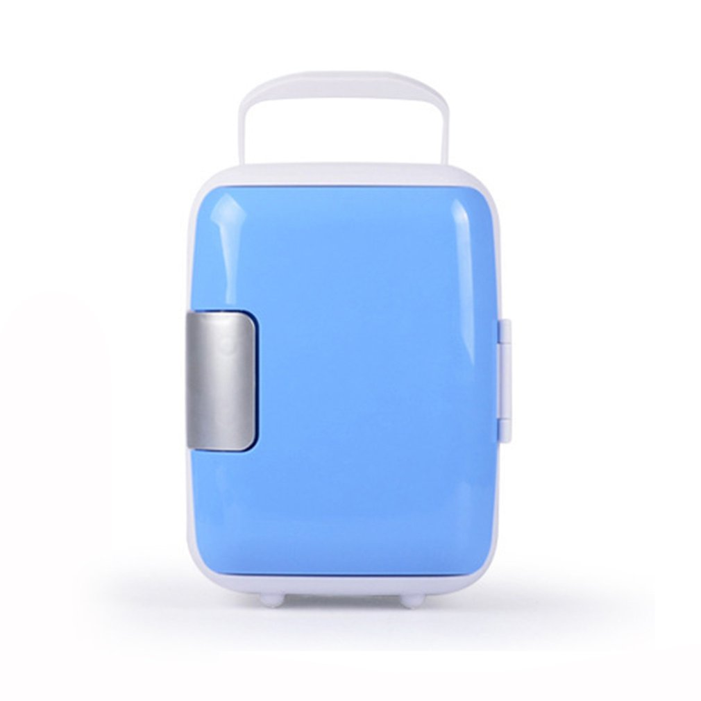 4L Portable Fridge Car Refrigerator Cans Beer Cooler Heating And Cooling Box 220V/12V Eletric Home Mini Dropshipping