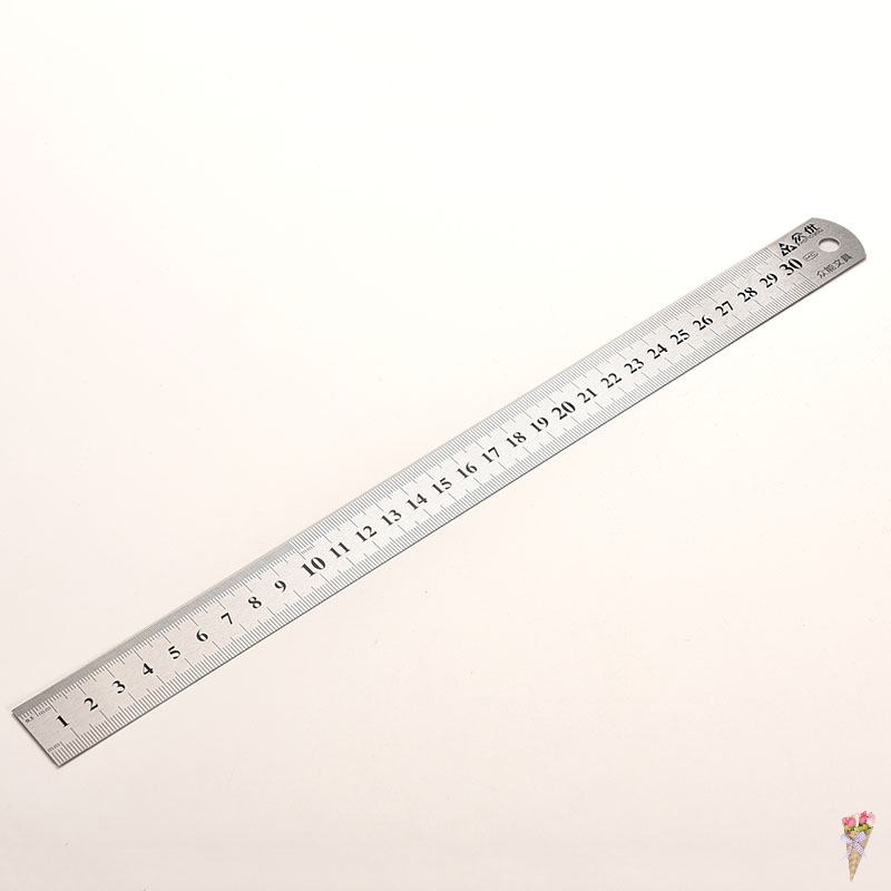 Sewing Foot Sewing 30cm Stainless Steel Metal Straight Ruler Ruler Tool Precision Double Sided Measuring Tool