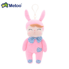 Stuffed Toys Plush Animals Soft Baby Kids Toys for Children Girls Boys Kawaii Mini Angela Rabbit Pendant Keychain