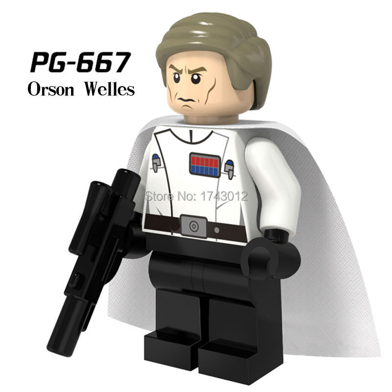 30pcs/lot STAR WARS Rogue One Jedi PG677 Master Mace Windu with Lightsaber Mini Dolls Assemble Building Blocks Kids Gift Toys