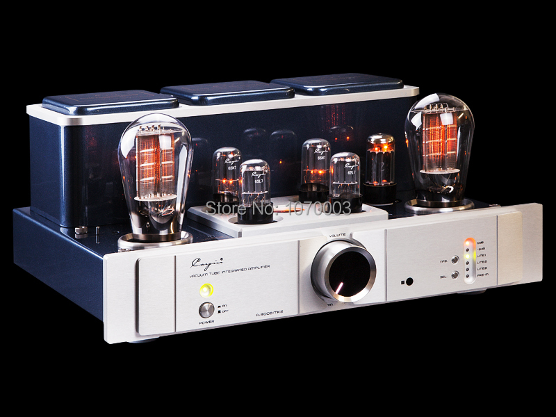 Cayin A-300BMK vacuum Tube amplifier Tube 300Bx2 single-ended Class A power amplifier PRE-in Mono amplifier  8W*2