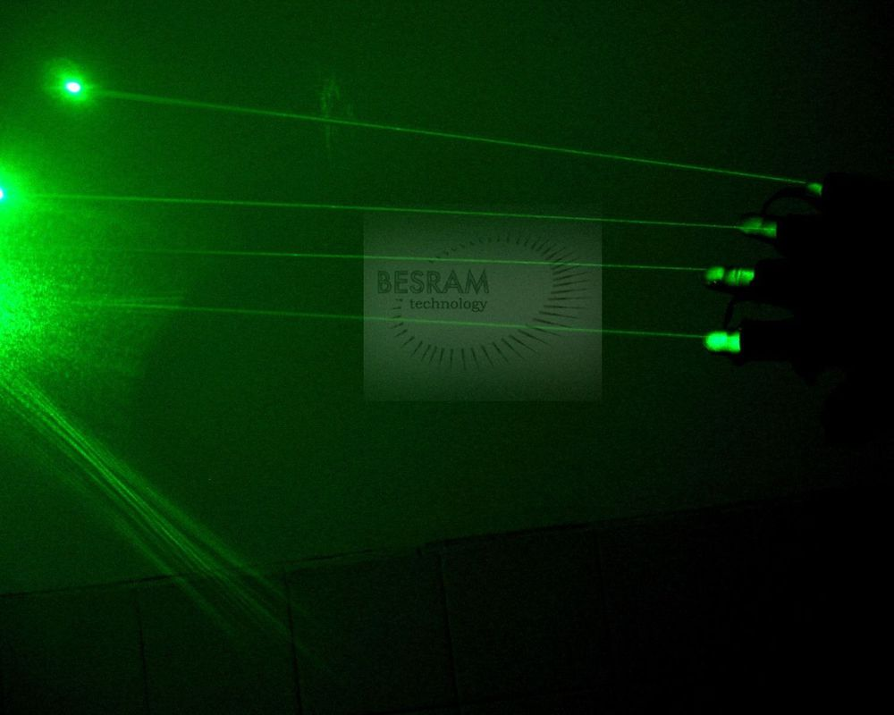 532nm Green Laser Glove of 4pcs 50mW-80mW Visible Beam Diode Modules Stage Lighting DJ Club Party Show Dancing 100 beams multiple beam lasers gloves green 532nm laser module lazer diode dj disco green laser glove event