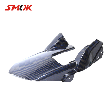 SMOK Motorcycle Carbon Fiber Rear Fender Splash Mud Dust Guard Mudguard Protection Tire Mudguard For Kawasaki Z1000 2010-2015