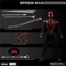 Mezco Marvel Avengers Spiderman Super Hero Spider Man One: 12 Coletivo BJD Figura Brinquedos 16 cm(China)
