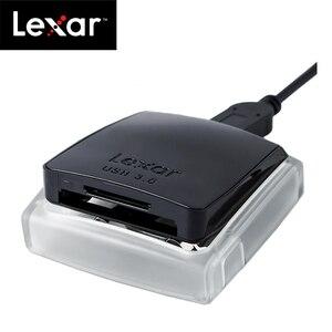 Image 3 - 100% מקורי Lexar מקצועי USB 3.0 CompactFlash כרטיס קורא SD/SDXC/SDHC כפול חריץ Reader400 מהירות עד כדי 500 MB/s