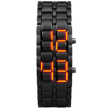 Aidis youth sports watches waterproof electronic second generation binary LED digital men's watch alloy wrist strap watch - DISCOUNT ITEM  56% OFF All Category