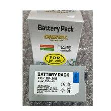 BP-208 Digital Camera Battery BP208 for Canon DC10 DC100 DC20 DC201 DC210 DC22 Elura100 FVM300 Ivis DC22 DC200