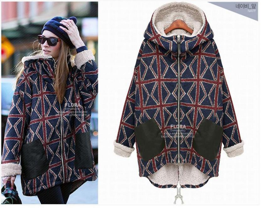 Popular Plaid Hoodie-Buy Cheap Plaid Hoodie lots from China Plaid ...