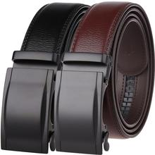 Hot Sale Business Male Black Belts Famous Brand Popular Leather Belt Newest Automatic Buckle Designer Men Black Belt 2019 hot sale business male black belts famous brand popular leather belt newest automatic buckle designer men black belt 2019