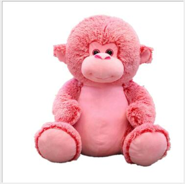 WYZHY Sitting posture monkey figurine plush toy bedside ornaments to send friends and children gifts