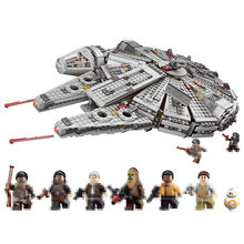 2019 New Force Awakens Building Blocks bricks fit legoings star wars Millennium Falcon figures fit 10467 kid boy gift diy Toys(China)