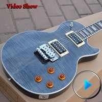 Custom Shop Custom Axcess Black Tiger Pattern Top Floyd Rose Instrumentos Musicales High Quality Complete China