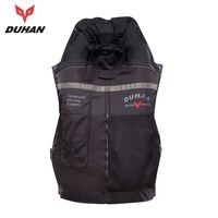 Free shipping 1pcs DUHAN NEW Air Bag Vest Protective System Inflatable Turtle CO2 Cylinder Reflective Motorcyle Vest