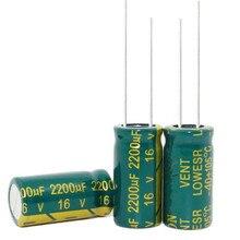 16v 2200uf 2200uf 16v 16 v 2200 uf 2200 uf 16 v Size:10X20 best quality New origina