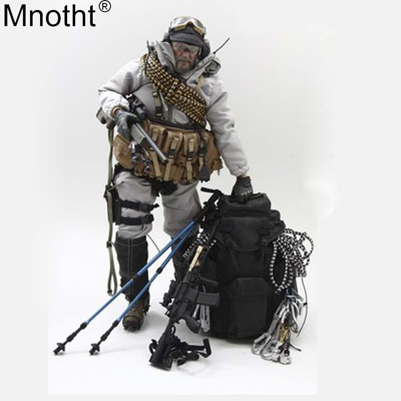 """Mnotht 1/6 SPECIAL FORCES MOUNTAIN OPS SNIPER ACU VH1046A / PCU VH1046G Toys For 12"""" Soldier Action Figure Collection M3n"""