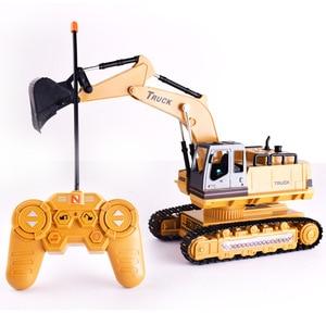 Image 3 - 1:18 грузовик дистанционного Управление Трактор Игрушки для грузовых автомобилей Rc 2,4G 8 канальный видеорегистратор для Rc игрушки трактора De Управление e дистанционного управления Управление б/у игрушка