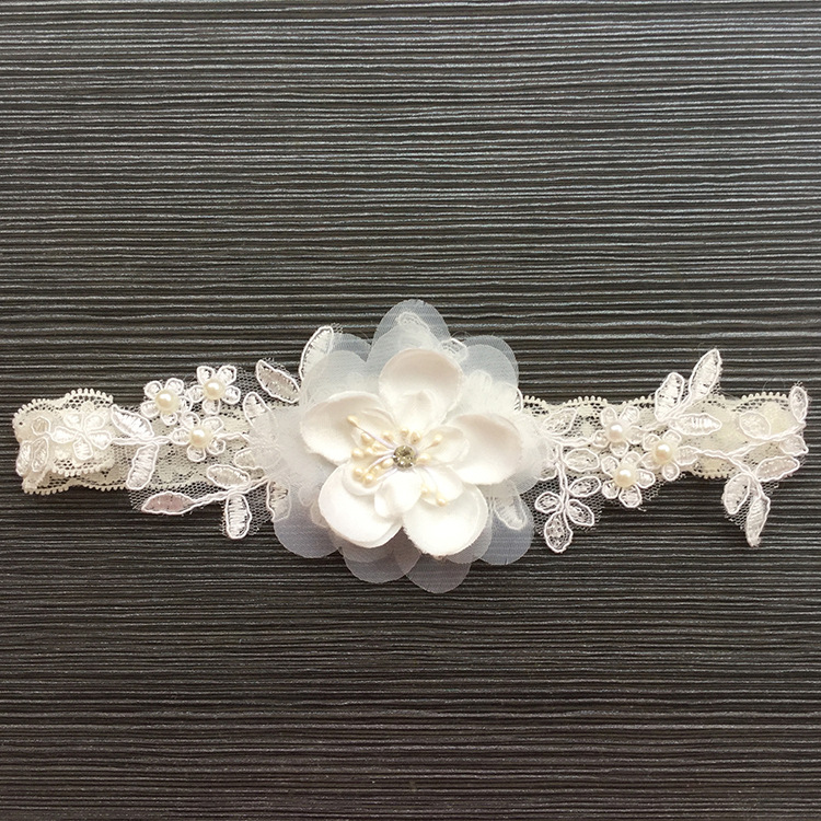Gtglad New Lace Wedding Garter Flowers Women's Sexy
