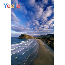 Yeele Seaside Waves  Coastal View Photographic Backdrops Island Sky Scenery Photography Backgrounds Customized For Photo Studio