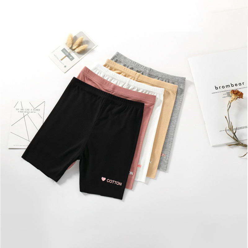 Baby Girls Lovely Letter Print Short Pants Cotton Stretch Bottoms Summer Casual Shorts Leggings