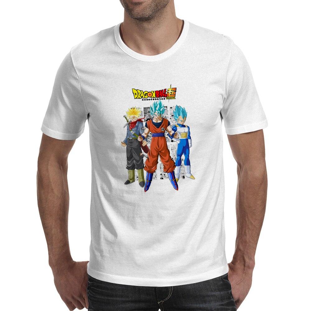 Shirt design online australia - Super Saiyan Blue Son Goku And Vegeta And Trunks T Shirt Design Novelty Hip Hop T