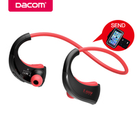 DACOM G06 Sports Neckband Headset Bluetooth Stereo Wireless Headphones IPX5 Waterproof Earbuds Earphone For Android IOS