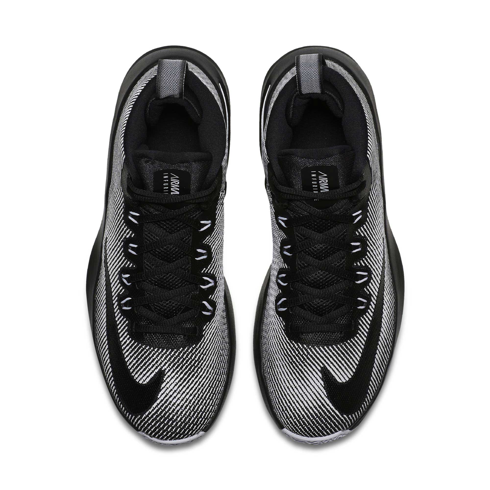 Original NIKE Authentic NIKE AIR MAX INFURIATE MID EP Mens Sport Shoes Non  slip Breathable Basketball Sneakers Sports Outdoor-in Basketball Shoes from  ... d82136bb2