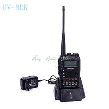 walkie talkie transceiver VEASU UV-8DR Tri-Band 136-174/240-260/400-520mhz 8W Thicker UV-8D R two way radio Vaesu ham radio