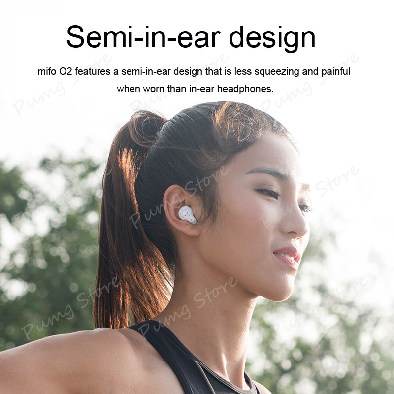 Mifo Sports Binaural Earphone O2 Stereo Ultra mini invisible Wireless business Earbuds Bluetooth earphones with Mic