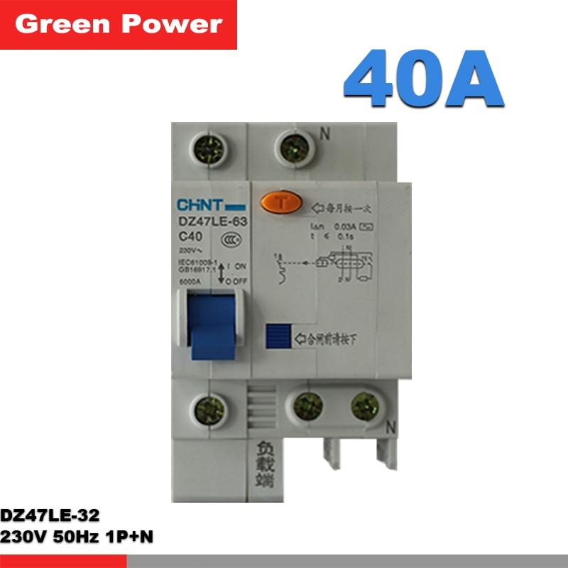 chnt chint breaker miniature circuit breaker dz47 60 c50 2p 50a in rh aliexpress com