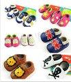 2015 venta caliente animal prints parche Bebé Mocasines de Cuero Genuino franja bebé recién nacido Primer Caminante zapatos de bebé mocasines niño