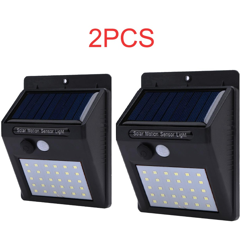 2 Pcs/lot 30 Led Solar Light Bulb Garden Light Outdoor Wall Sense Waterproof Ip65 Solar Lamp Wall Lights Lampe Solaire Exterieur Fragrant Flavor In