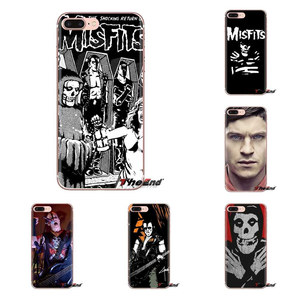 Misfits Rock Print Transparante Soft Shell Covers Voor Xiaomi Redmi 4A S2 Note 3 3 S 4 4X5 plus 6 7 6A Pro Pocophone F1
